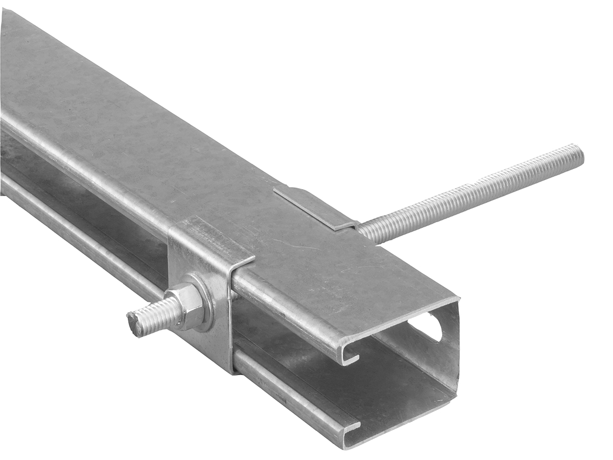 Ventilation Duct Supports : Tzh tzw trapeze hanger ward