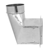 Side of WCRD-50B/WCRD-50-4XB - Ceiling Radiation Damper with Boot